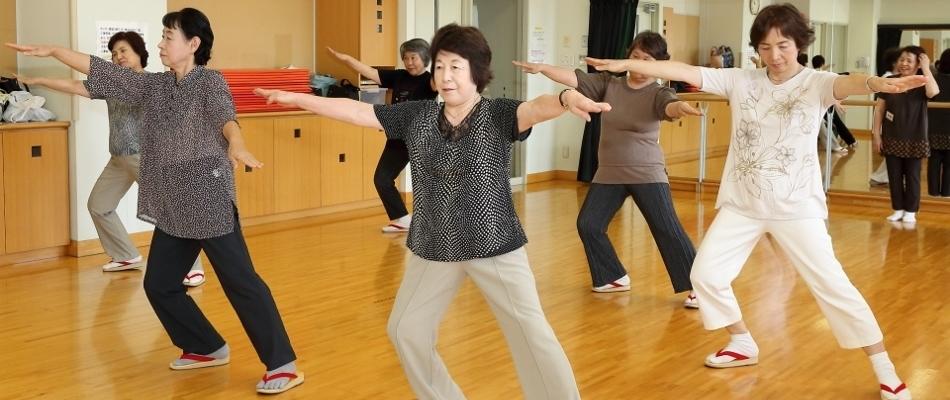 踊って体操(おわら節・体操教室)