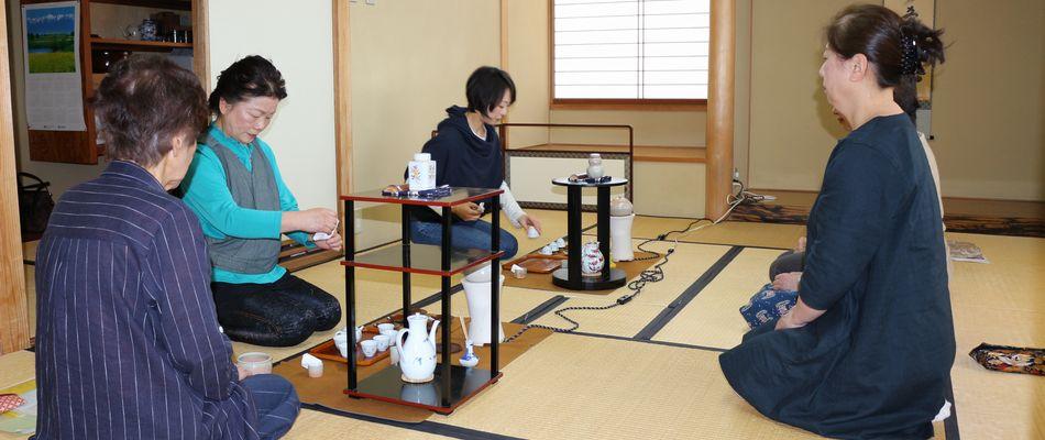 皇風煎茶禮式(茶道・煎茶教室)