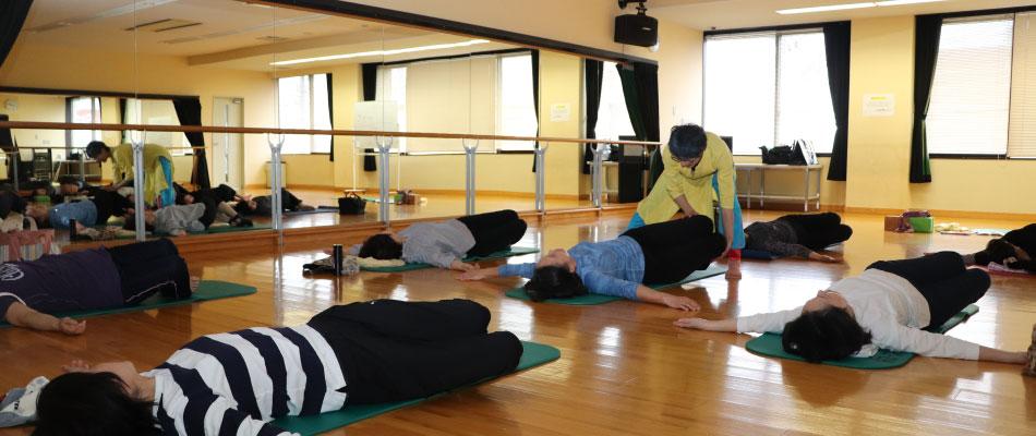 健康呼吸体操