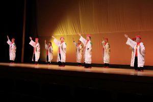 民踊 舞台発表会