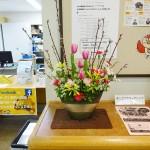 2/26(金)フラワーアレンジ講師作品