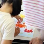7/26(日)和紙ちぎり絵親子体験会
