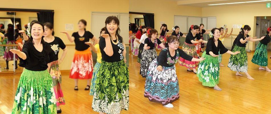 ハワイアン・フラ(フラダンス教室)